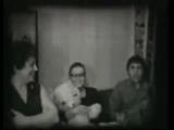 Марина Влади и Владимир Высоцкий в гостях у Орловых. 1974г.