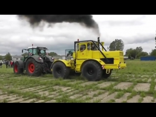 Тракторы, перетягивание Кировец К-700, 701, 744 против всех, битва монстров
