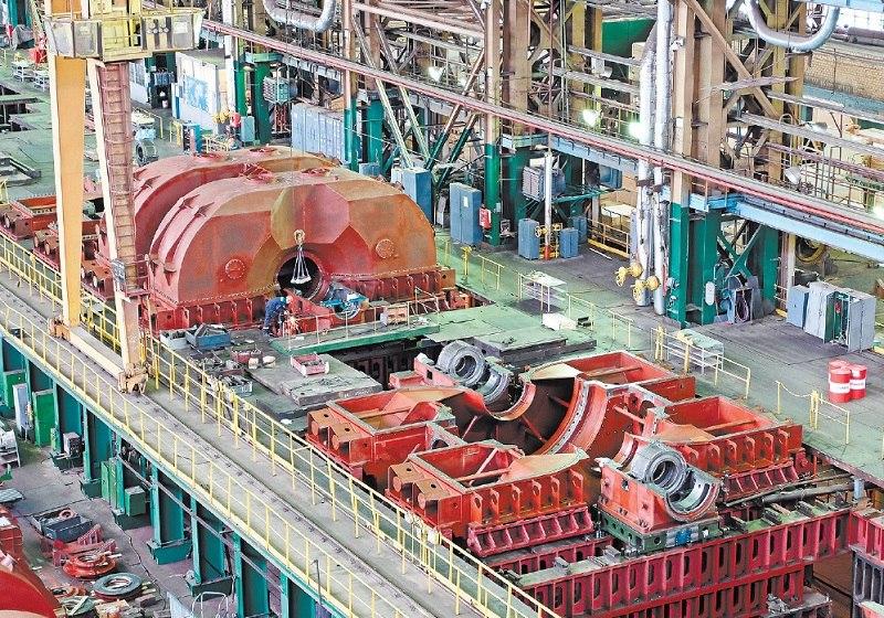 «Красный котельщик»  продолжает изготовление энергооборудования для первой строящейся белорусской АЭС