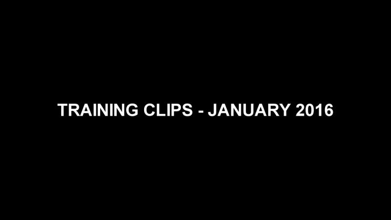 Paweł Skóra - Training clips - January 2016