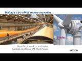 Offshore wind turbine Haliade 150 - 6 MW