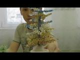 Мастер-класс № 2 Дерево из бисера от Андрея студия бисероплетения ДДиЮ