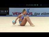 Дина Аверина - мяч (многоборье) КМ Эспо 2016