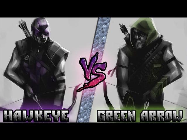 Соколиный Глаз (Мстители) vs Зелёная Стрела (Лига Справедливости) - Кто кого? [bezdarno]