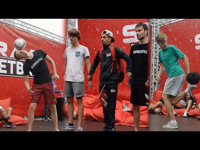 DUTCH FREESTYLE FOOTBALL CHAMPIONSHIPS 2016 KNVB Straat Voetbal