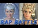 FREYA vs RAVENNA: Princess Rap Battle (Laura Marano, Derek Theler, Whitney Avalon)