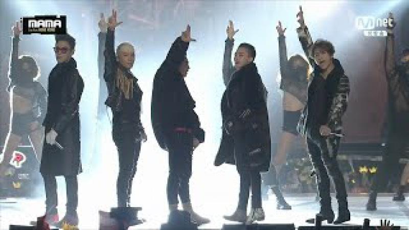 BIGBANG - 'LOSER' 'BAE BAE' '뱅뱅뱅(BANG BANG BANG)' in 2015 MAMA
