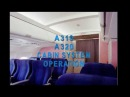 Cabin System Operation Equipment furnishings (CBT A320)