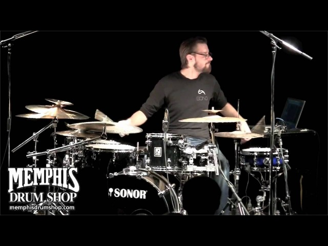 Benny Greb Clinic Solo Clip at Memphis Drum Shop
