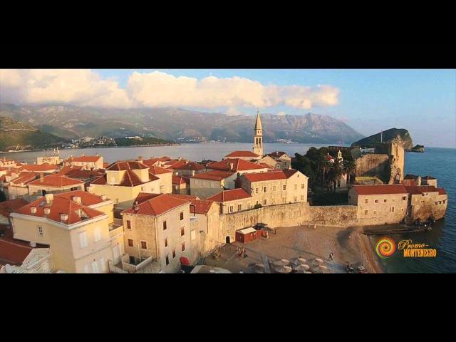 Budva. Flights in Montenegro. Letovi u Crnoj Gori. Полеты в Черногории. Promo-Montenegro.