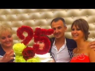Серебряная свадьба!!! 25 лет совместной жизни! Обновление союза Валерия И Гульнары!!! ЭТО ЛЮБОВЬ!!!
