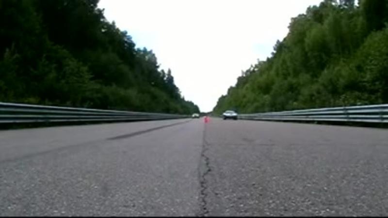 BMW Alpina B6S vs Ferrari 575M_xvid
