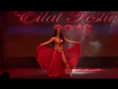 stefania bellydancer  Eilat Festival 2016 Friday Delight Show