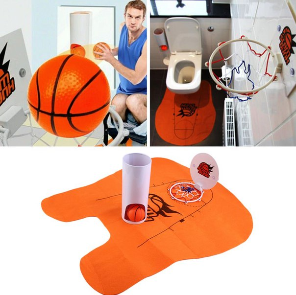 Если тебе реально скучно в туалете  http://ru.aliexpress.com/store/product/Funny-Toilet-Basketball-Game-Gadget-Prank-Gift-for-Basketball-Lovers-Hot-Seling/514722_32610846114.html?detailNewVersion=&categoryId=200001402&storeId=514722