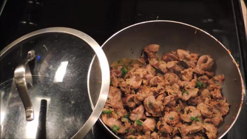 Куриные Желудочки. Просто и вкусно!