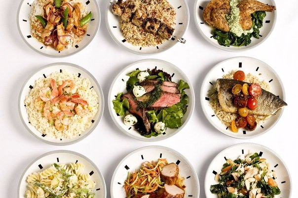 При правильном питании следует есть: