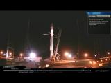 Запуск ракеты Falcon 9 аварийно прерван в момент старта