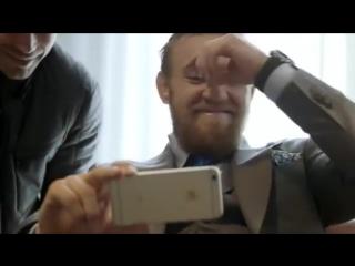 Конор МакГрегор смеются над ударкой Ронда Rouse #UFC