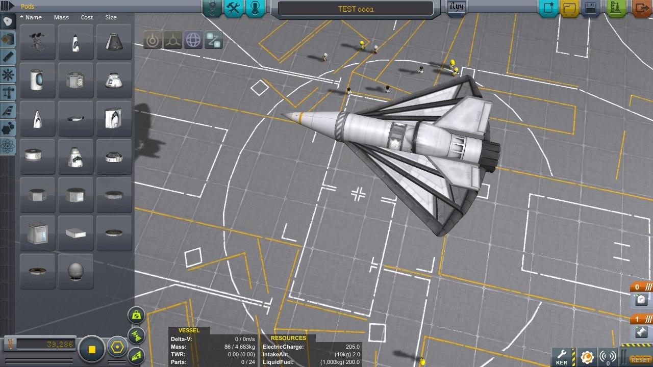 Аэродинамическое сопротивление версии 1.0.5. Гайд, видеоурок и подборка крафтов.