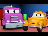 Автомобиль платформа и Эвакуатор Том | Мультфильм о машинках для детей и малышей на русском языке