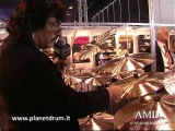 Carmine Appice presenting his Istanbul Mehmet Cymbals