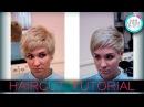Haircut women's for a thick curly hair женская стрижка для густых вьющихся волос tutorial 23