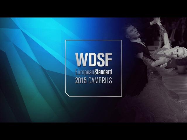 Mushtukov - Carmen, ROU   2015 European Standard R3 Q   DanceSport Total