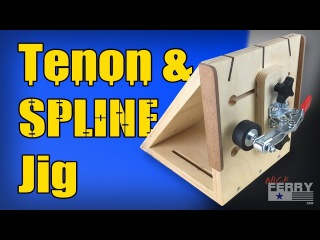 Ⓕ Spline And Tenon Jig - All-In-One (ep67)