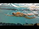 Урок 5. плавание на боку со сменой руки под водой