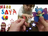 Разноцветная Фея и Наклейки для ногтей с Машей. Видео для Детей