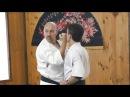 Николай Коровин показывает прикладную технику окинавского каратэ