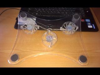 Охлаждающая подставка для ноутбука обзор
