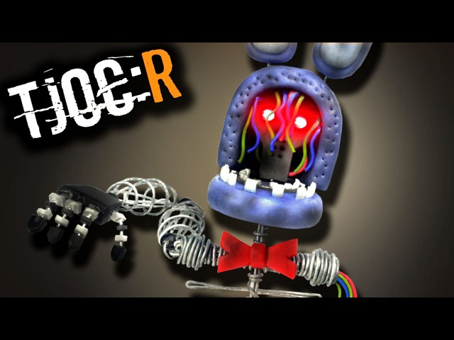 How to make IGNITED BONNIE (LED Eyes) ★ TJOCR ➤Polymer clay Tutorial Giovy