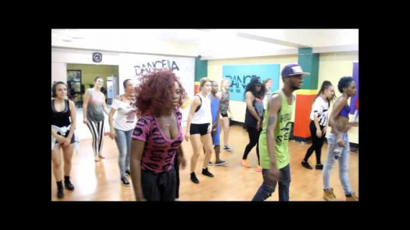 Ravers Clavers DANCEHALL Workshop at DanceJa Skool