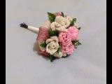 Свадебный букет из бисера.Часть 3.Wedding bouquet of bisera.Chast 3 .