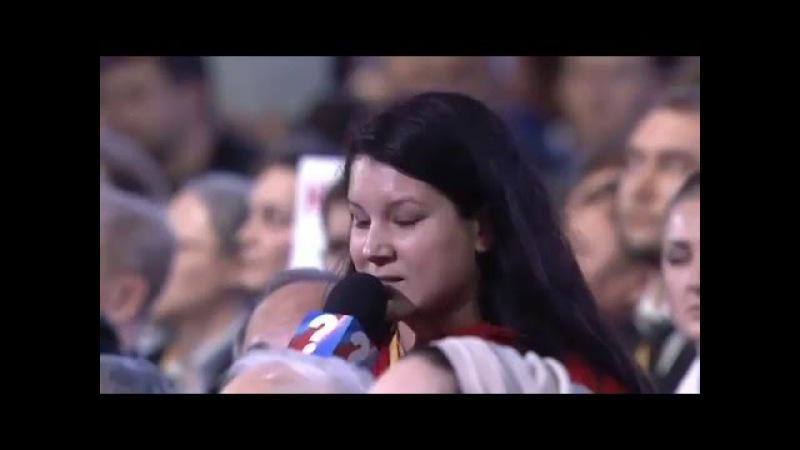 Путин vs Екатерина Винокурова (Znak.Com). Пресс-конференци В.Путина 17.12.2015