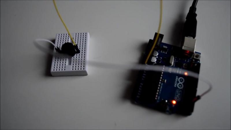 Arduino для начинающих. Урок 6. Пьезоэлемент (пьезодинамик)