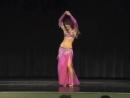 Maria - belly dance - MECDA Gala Show - Novel Story Tanyeli