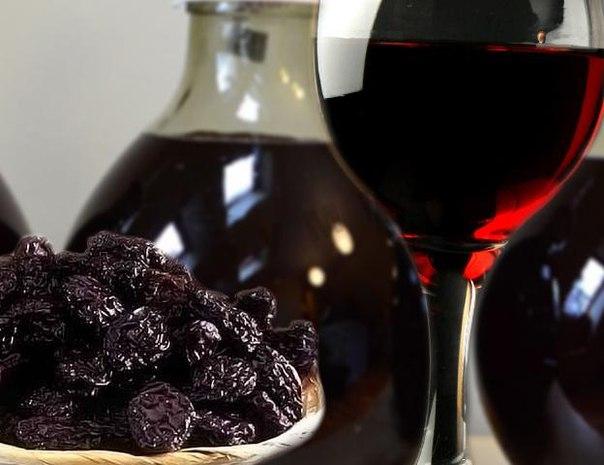 Вино из чернослив в домашних условиях