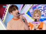 160514 Musiccore MC CUT#1 BTS Jungkook singing TWICE Sana shy shy shy