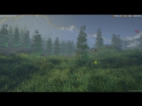Трава+система ветра