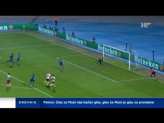 Dinamo Zagreb - Salzburg 1-1, all goals, 16.08.2016. HD