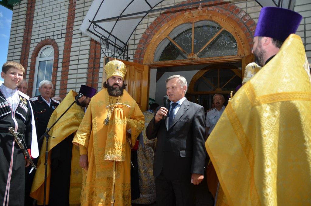 Престольный праздник отметили в станице Зеленчукской