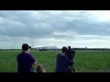 Ан-225 Мрiя, посадка в Киеве