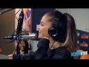 Ariana Grande Spills Tea on New Album Collabs Answers Fan Questions at KIIS-FM