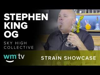 Strain Showcase - Platinum Stephen King OG - Medical Marijuana Review (Music by V-Sine Beatz)