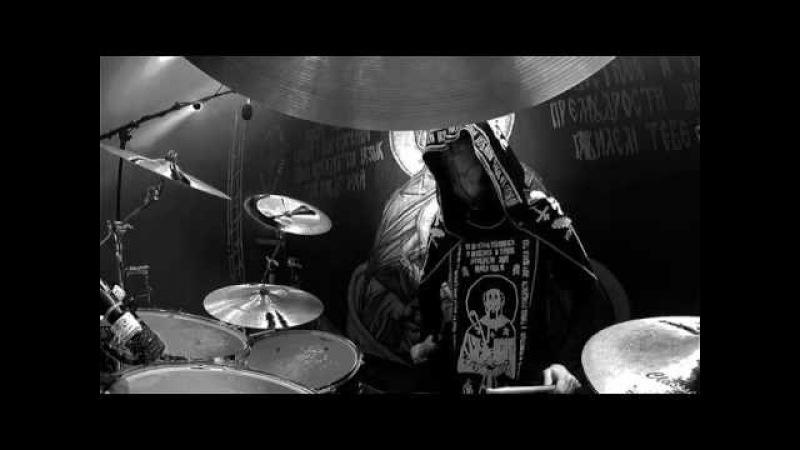 BATUSHKA@Yekteniya 3-Martin-live in Gothoom Fest 2016 (Drum Cam)