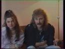 Игорь Николаев и Наташа Королева интервью Питер 1992 шоу Дельфин и русалка