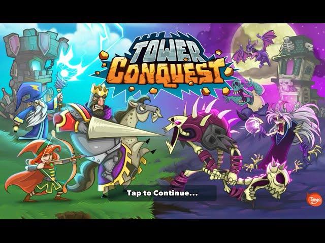 [Обновление] Tower Conquest - Геймплей | Трейлер