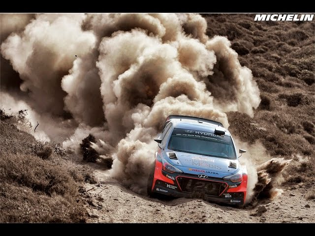 Highlights 2016 WRC Rally Italia Sardegna Michelin Motorsport